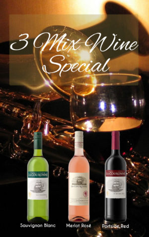 3 Mix Wine Special